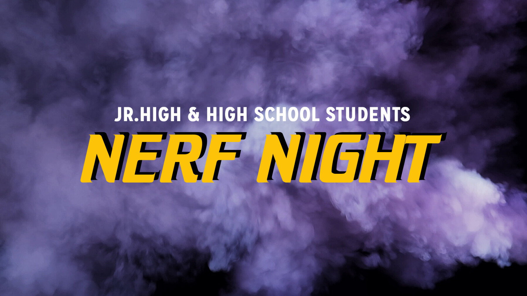 Students Nerf Night
