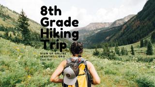 8th Grade Hike