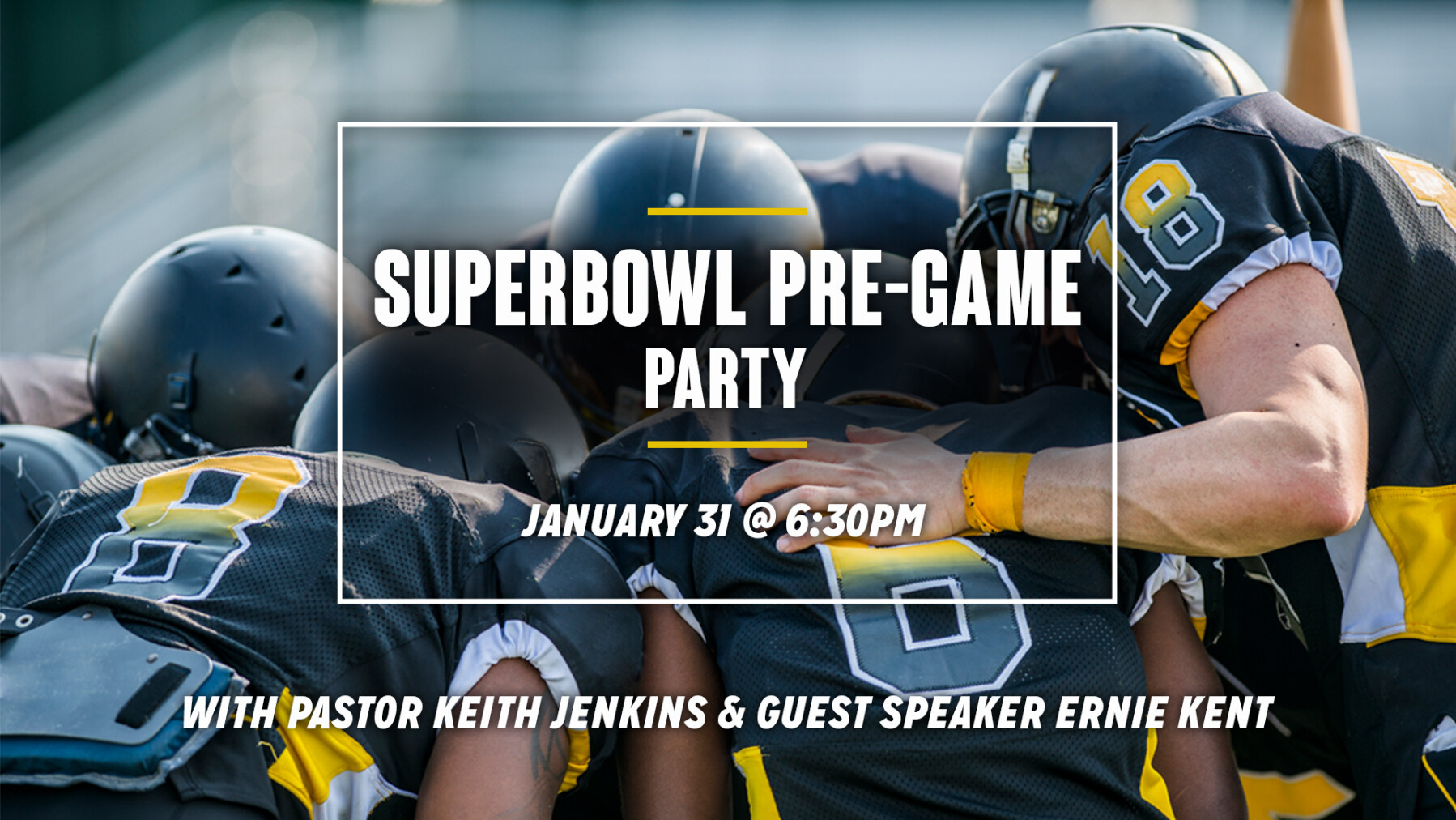 Superbowl Pre-Game Party