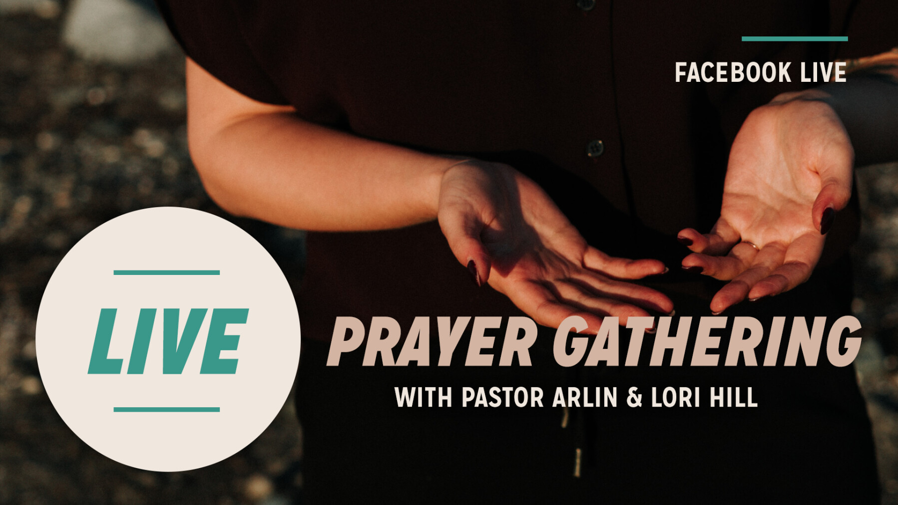 LIVE Prayer with Pastor Arlin & Lori